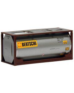 "20ft. Tankcontainer, silber ""Bertschi"""