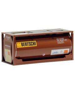 "20ft. Tankcontainer, braun ""Bertschi"""