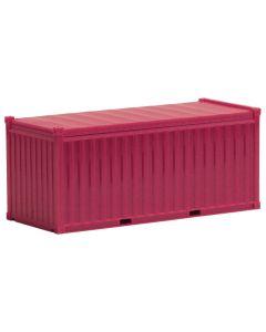 20ft. Open top Container, magenta