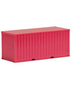 20ft. Container gerippt, magenta