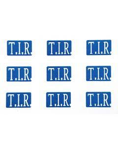 Decals T.I.R.