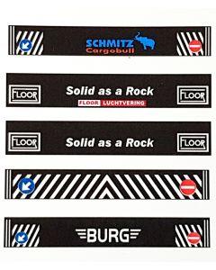 Decals Schmitz, Floor I, Floor II, Markering und Burg