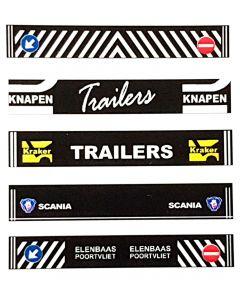 Stickerset Knapen, Kraker, Scania