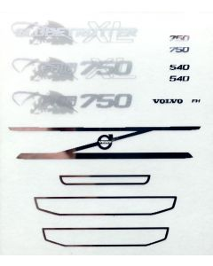 Sticker Set Volvo FH4 Gl. XL