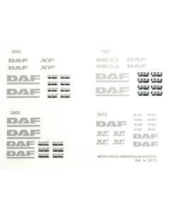Sticker set DAF XF95/95XF/ XF105/Euro6