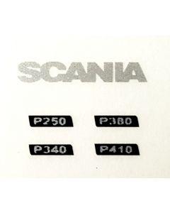 Scania P Type, Decals