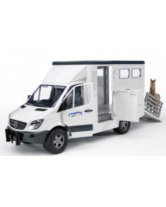 MB Sprinter Tiertransporter mit 1 Pferd