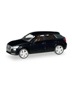 Audi Q2, mythosschwarz metallic