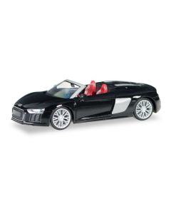 Audi R8 Spyder, Mythosschwarz Perleffekt