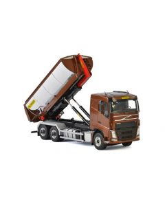Volvo FH4 Sleeper Cab 6x4 Hooklift System Container Asphalt