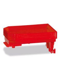 Schwanenhals für Goldhofer Achslinien THP-SL, rot, 2x