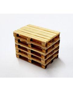 Paletten aus Holz, 5x