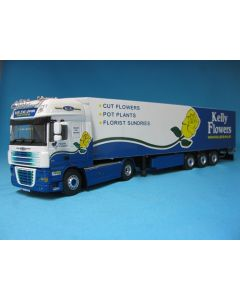 DAF XF 105 SSC Sattelzug Kelly Flowers