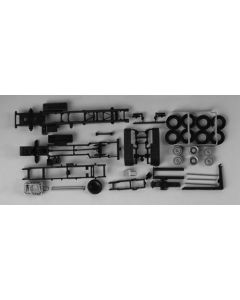Fahrgestelle MAN TGX/TGS LKW mit Abrollkinematik 3a, 2x