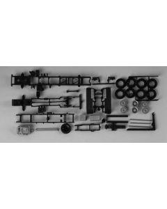 LKW-Fahrgestelle MB Actros 3-achs mit Abrollkinematik