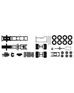 Fahrgestell für Scania CS/CR 6x2 + Chassisverkleidung Inhalt, 2x