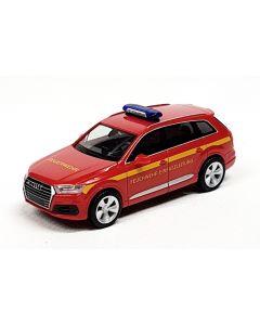 Audi Q7 Feuerwehr Einsatzleitung