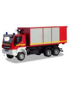 Iveco Trakker Wechsellader-LKW Feuerwehr