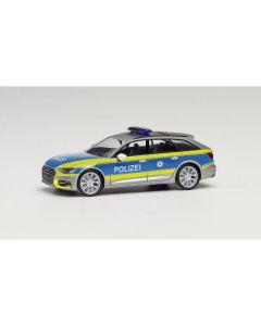 Audi A6 Avant Polizei Thüringen