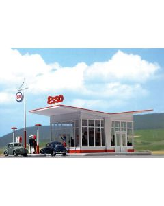 Bausatz, Tankstelle Esso