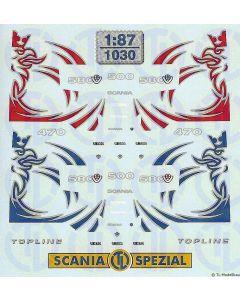 Scania Baureihe »R« Fahrerhaus Dekor