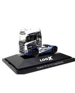 """Scania CR 20 HD Zugmaschine """"Log-X / No Limit"""" (CZ)"""