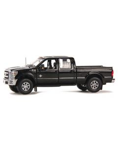 Ford F250 XLT Pickup Super Cab & 6' Bed - black / Chrome