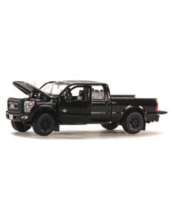 Ford F250 XLT Pickup with Crew Cab & 6' Bed - Black / Black