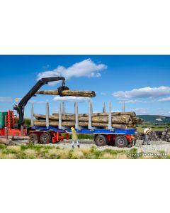 DOLL Sattelauflieger für Kurz- und Langholz