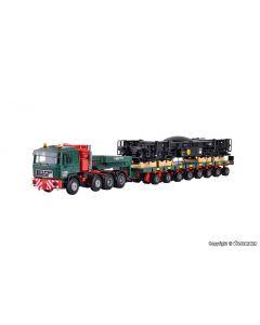 MAN SK mit Scheuerle Plattformwagen und Unterteil Schienenkran, Bausatz