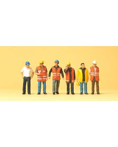 Workers wearing safety vest