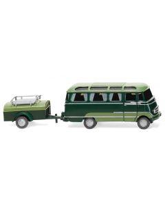 Panoramabus mit Anhänger (MB O 319)