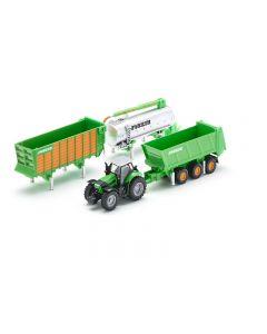 Deutz Agrotron X720 mit Joskin Anhängerset