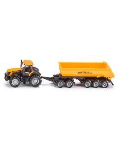 JCB Traktor m. Dolly und Kippmulde