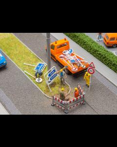Schweizer Verkehrsschilder - Set II, Bausatz