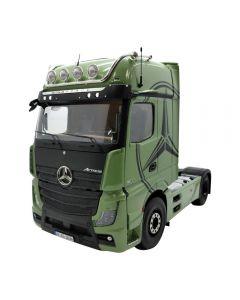 Mercedes Benz Actros grün mit Dekor
