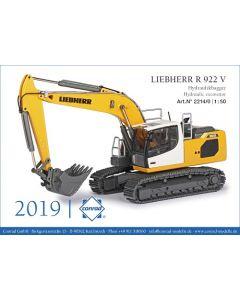 Liebherr R 922 V Hydraulic excavator