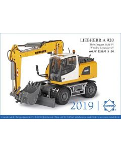 Liebherr A 920 Mobilbagger A 920 Mobilbagger Stufe IV