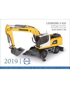 Liebherr A 920 Mobilbagger Stufe IIIA