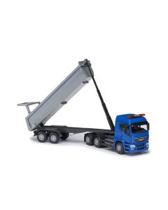 MAN TGS LX tipping trailer