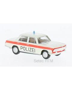 BMW 2000, weiss/orange, Polizei Solothurn