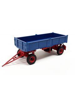 2-a-Kipp-Anhänger einfachbereift blau