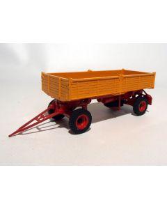 2-a-Kipp-Anhänger einfachbereift orange