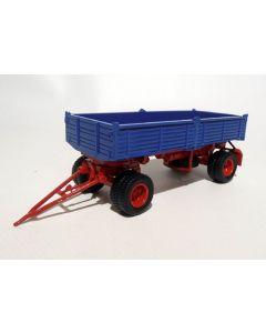 2-a-Kipp-Anhänger doppelbereift blau