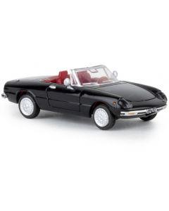 Alfa Romeo Spider, schwarz, 1969