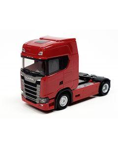 Scania CS 20 HD mit Sonnenblende, rubinrot