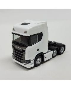 Scania CR 20 HD 6x2 Zugmaschine, weiß