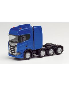 Scania CS HD Zugmaschine, ultramarinblau