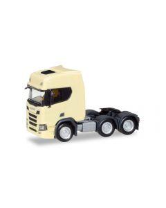Scania CR 20 HD 6x2 Zugmaschine, hellgelb