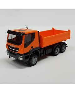 Iveco Trakker 6x6 Baukipper-LKW, orange